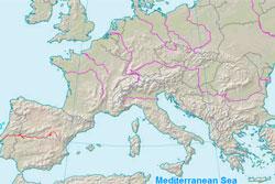 Recunoaste Raurile Europei