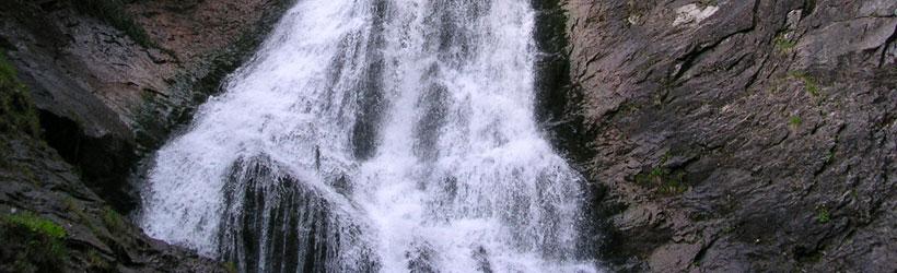 Cascada Valul Miresei de la Răchitele